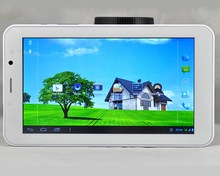 7 inch Dual Core Tablet MTK8312 with Bluetooth GPS GSM 3G WCDMA Dual SIM Dual Standby