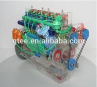Transparent 6135Q (STEYR) diesel engine educational equipment