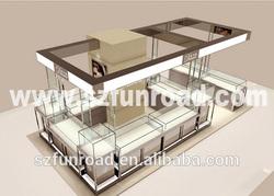Jewelry shop interior design, jewelry kiosk design, jewelry display furniture