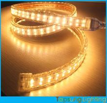 high voltage double row 2835 120v led strip light warm white ribbon 2014 new strip 120smd/M