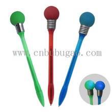 2014 New design bulb plastic light pen