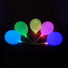 led parpadeante globo de cumpleaños