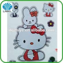 Fancy Adhesive Cartoon Kids Stickers,Custom Waterproof Personalized Sticker,Self Adhesive Custom Roll Stickers