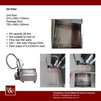 Hot Sale Frying Oil Filter System
