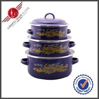 Enamelware Food Cooking pot Wholesale Non-Stick Cookware