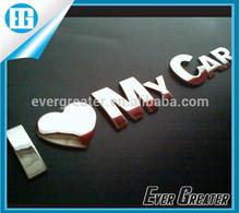 customized personal emblems for car decoration emblems sticker 3D Metal Car Auto 3D Alloy Badge
