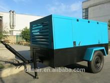 110~1200cfm Diesel engine driven mobile compressor