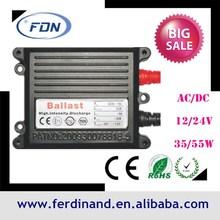 car auto HID xenon light ballast slim 55w xenon hid ballast