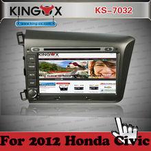 Kingox car dvd 8inch HD TFT screen gps dvd for honda car multimedia with 3G DVR 1080P IPOD DVD DVB-T