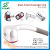 personal massager 2014 hot with factory price and best quality dual-head personal massager for men