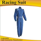 Car Racing suit SFI Level 1 3.2a/1 FRC Suit and TPP Rating 10.0 and Fire proof suit with Fire Resistant Cotton