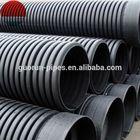 large diameter plastic drain pipe / corrugated hdpe pipe culvert pipe