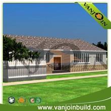 2014 Newest Modern style prefabricated house,light steel villa