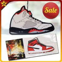 Air Jordan Shoes Scented Paper Car Air Freshener Packaging