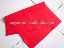 Non woven polyester short fiber felt