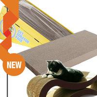 2014 new wholesale corrugated cardboard cat scratchers