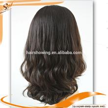 Top Quality pony tail wigs European hair jewish kosher human hair wigs