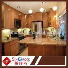 smooth surface granite kitchen top