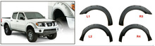 Fender Flare For Nissan Frontier Set Part 73.3 INCH BED 05-12