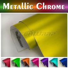 TeckWrap Car Sticker High Stretch Rate Stro Matte Chrome Red/ Blue Vinyl Film 1.52m x 20m /Roll