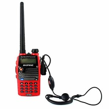 wholesale,ham radio,Cheap radio,BAOFENG UV5RA-PLUS RED Dual Band 136-174/400-480MHZ +Car Adaptor E-DC48