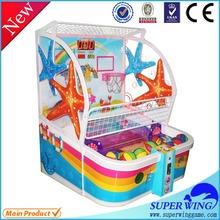 Sharpshooter Gemini shooting hoops basketball game machine