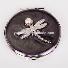 Fashion design for promotion souvenir pocket mirror HQCM290453