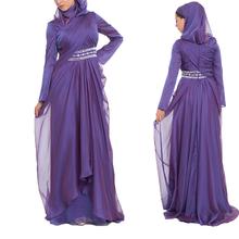 alibaba wholesale OEM china supplier abaya latest design long sleeve muslim evening dress