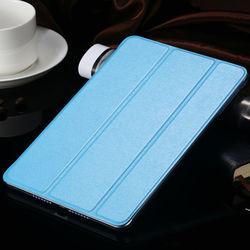 Ultra Thin Case For iPad MIni 1 2 Three Plates Fold Cover For iPad MIni Stand Leather Flip Case For iPad Mini 2 3 RCD03737