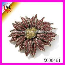 X000461 ALIBABA WEBSITE HOT SALE FACTORY DIRECT ARTIFICIAL BROOCH FLOWER