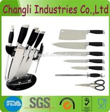 Stainless steel best kitchen knife set