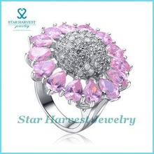 Vogue 925 ring fashion hot gemstone