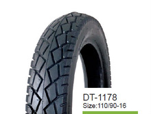 DONGYUE Chinese tire! chinese good performance 110/90-16 6PR vacuum/ tubeless motorcycle tyre/tire