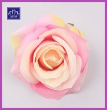 Artificial Fabric Rose Flowers For Wedding Hair Accessory