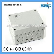 ip 65 saip hot sale SD 9065Z waterproof hinged plastic box (139*119*70)