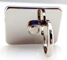 Silver ring holder for mobile phone