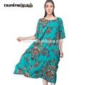 arte de vestir boutique floral impresso viscose 100 maxi vestido boêmio da índia