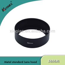 Kernel 58mm Standard Metal Lens Hood with Screw Mount for canon Lens