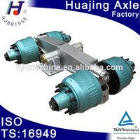 HJ Argo bogie suspension for trailers 80 ton