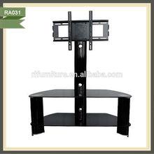 Manual lifting mechanism lcd tv stand metal furnitures RA031