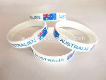 Custom Printed Technique and Souvenir Use silicone gel bracelet