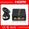 Mini RCA to HDMI Converter With USB Power Cable 1080P CVBS to HDMI Mini Converter