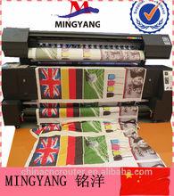 Digital lycra fabric sublimation flag printing machine