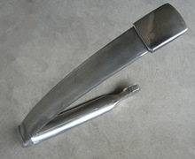 Aluminum die cast car seat armrest