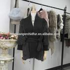 2014 New Style Fashion Women Rabbit Fur Knitted Coat chinchilla fur Coat