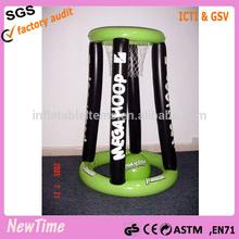 inflatable pool goal, indoor inflatable basketball hoop