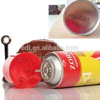 China factory empty aerosol tinplate can
