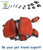 Lovoyager travel pet dog harness backpack