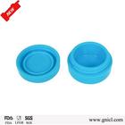 FDA & LFGB grade BPA free non-stick oil slick silicone custom containers for wax