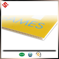 2014 PP frosted silk-screen printing plastic sheet